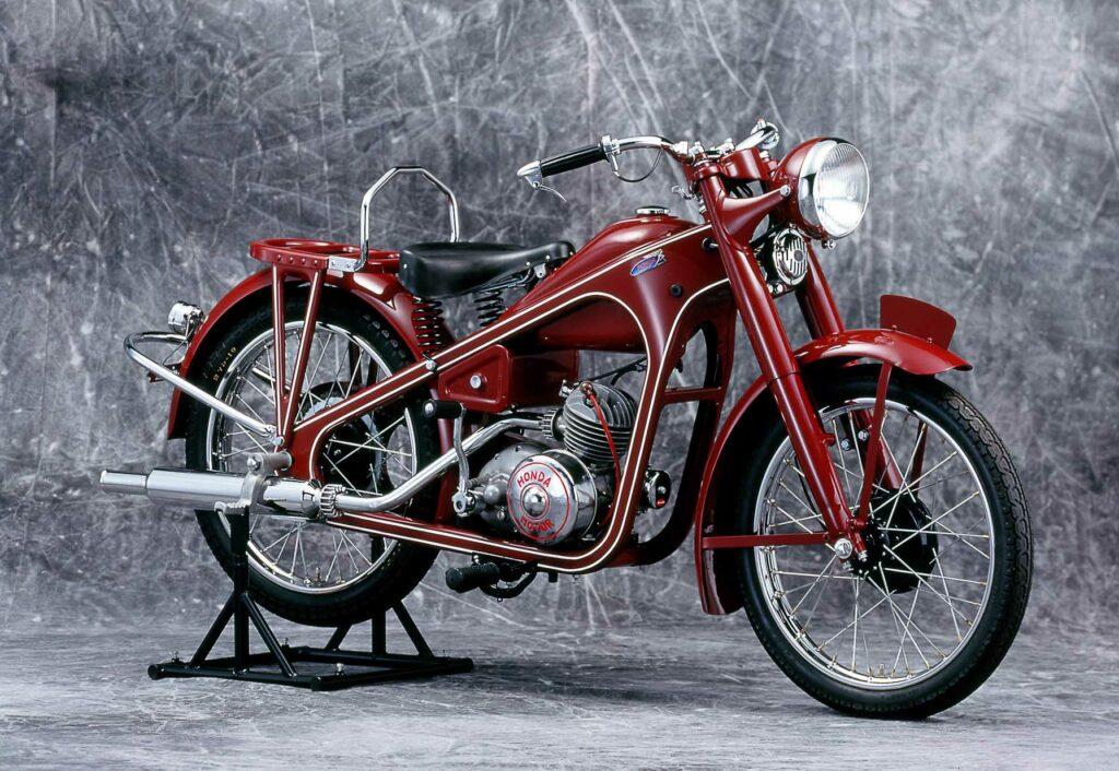 Honda Dream D-Typ war 1949 das erste Massenprodukt von Honda