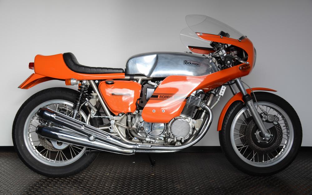 Rickman baute die Honda CR 750 ab 1974