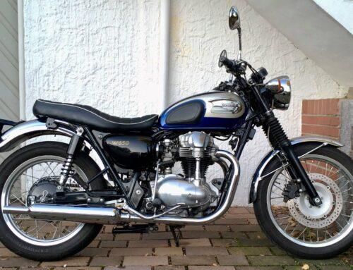 Kawasaki W650 nach 15 Jahren – ein Erfahrungsbericht von Bertram Konert