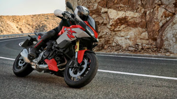 Das Sports Adventure Bikes BMW F 900 XR