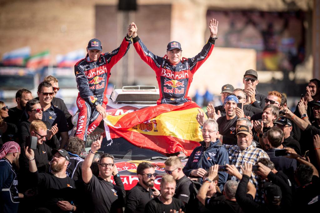 Carlos Sainz triumphierte bei den Autos