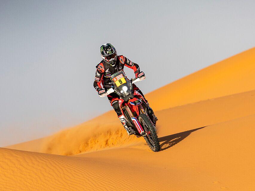 75 Prozent der Dakar 2020 führten durch die Wüste