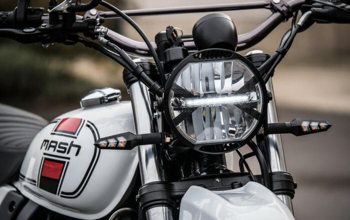 Mash X-Ride 650 im XT 500 Look