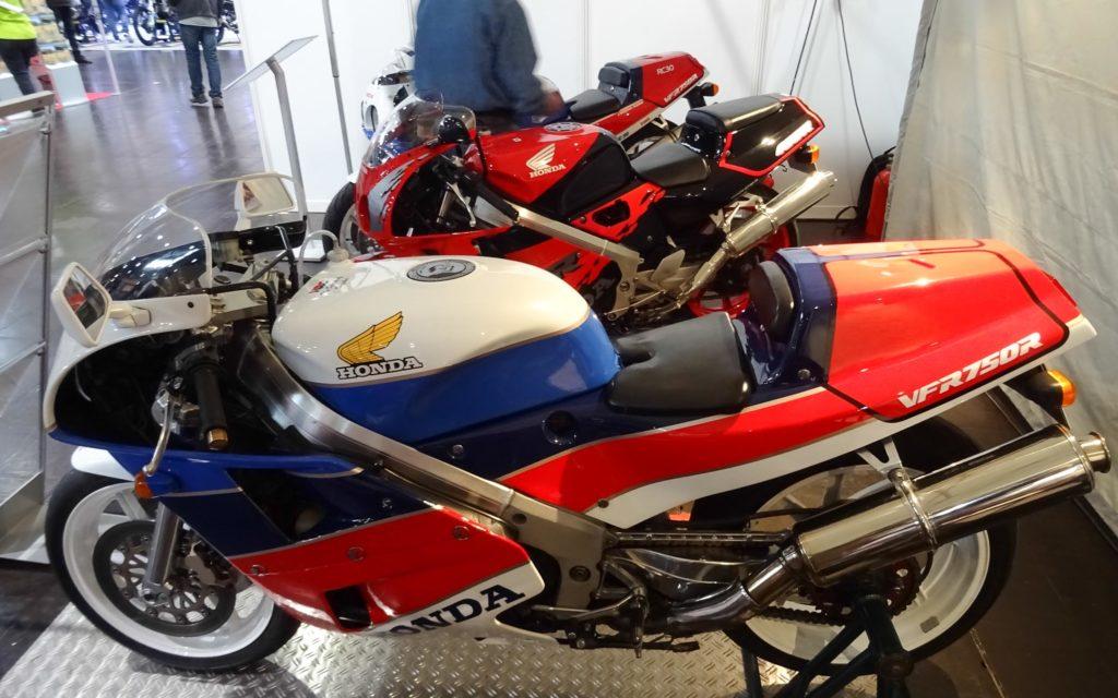 RC30 Club präsentierte vier Maschinen auf der Motorradmesse Leipzig