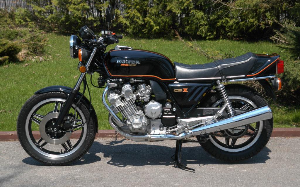 Gehört zu den bekanntesten Sechszylinder-Motorrädern: Honda CBX 1000