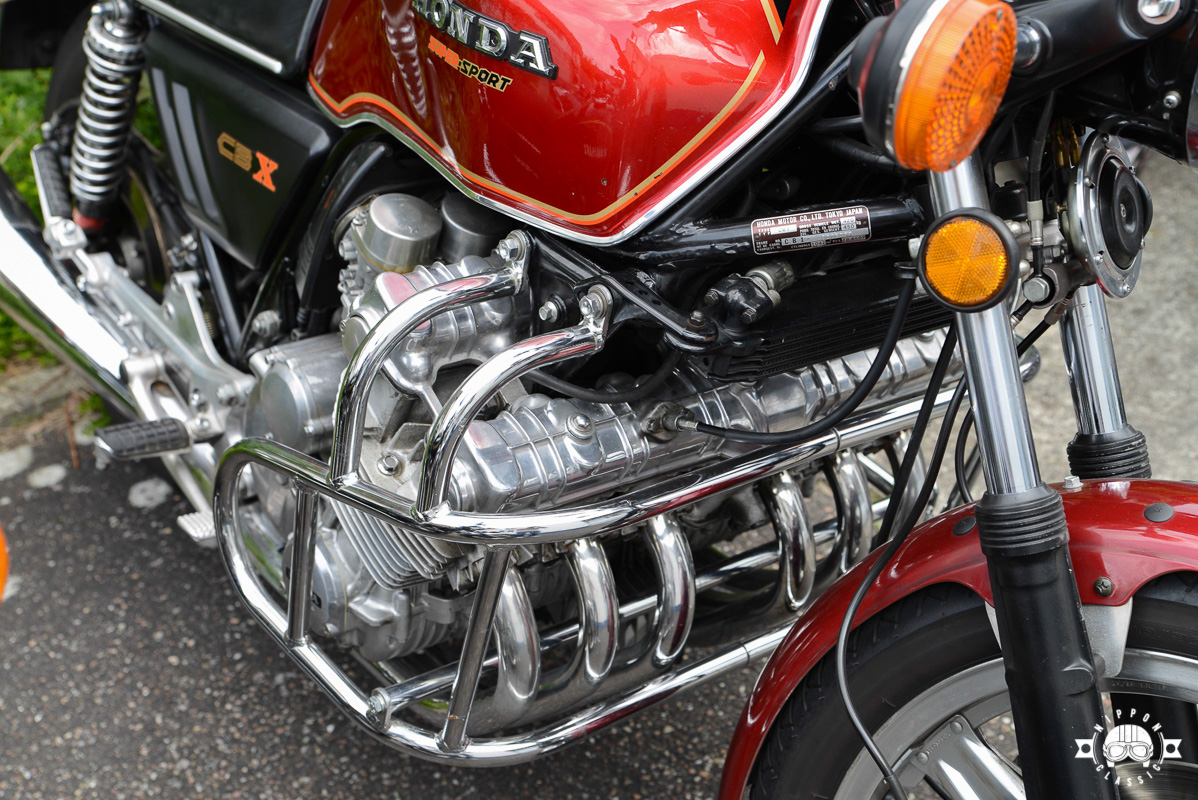 Sie ist die Queen der Sechszylinder Motorräder: die Honda CBX 1000