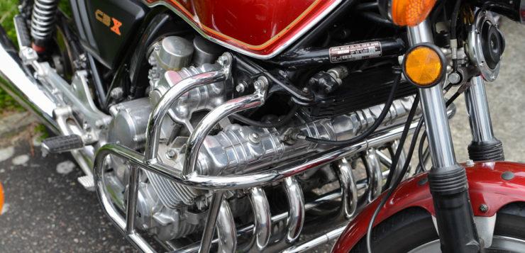 Sonderklasse - Sechszylinder-Motorrad von Honda