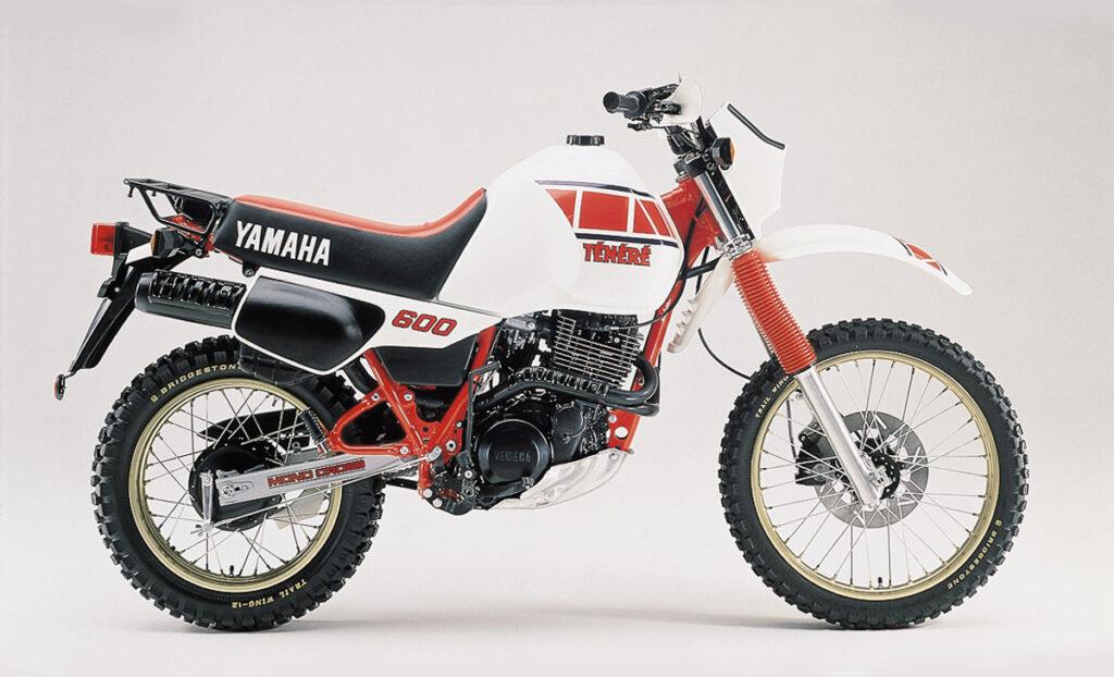 Das Serienmodell der Yamaha XT 600Z Tenere (55W)