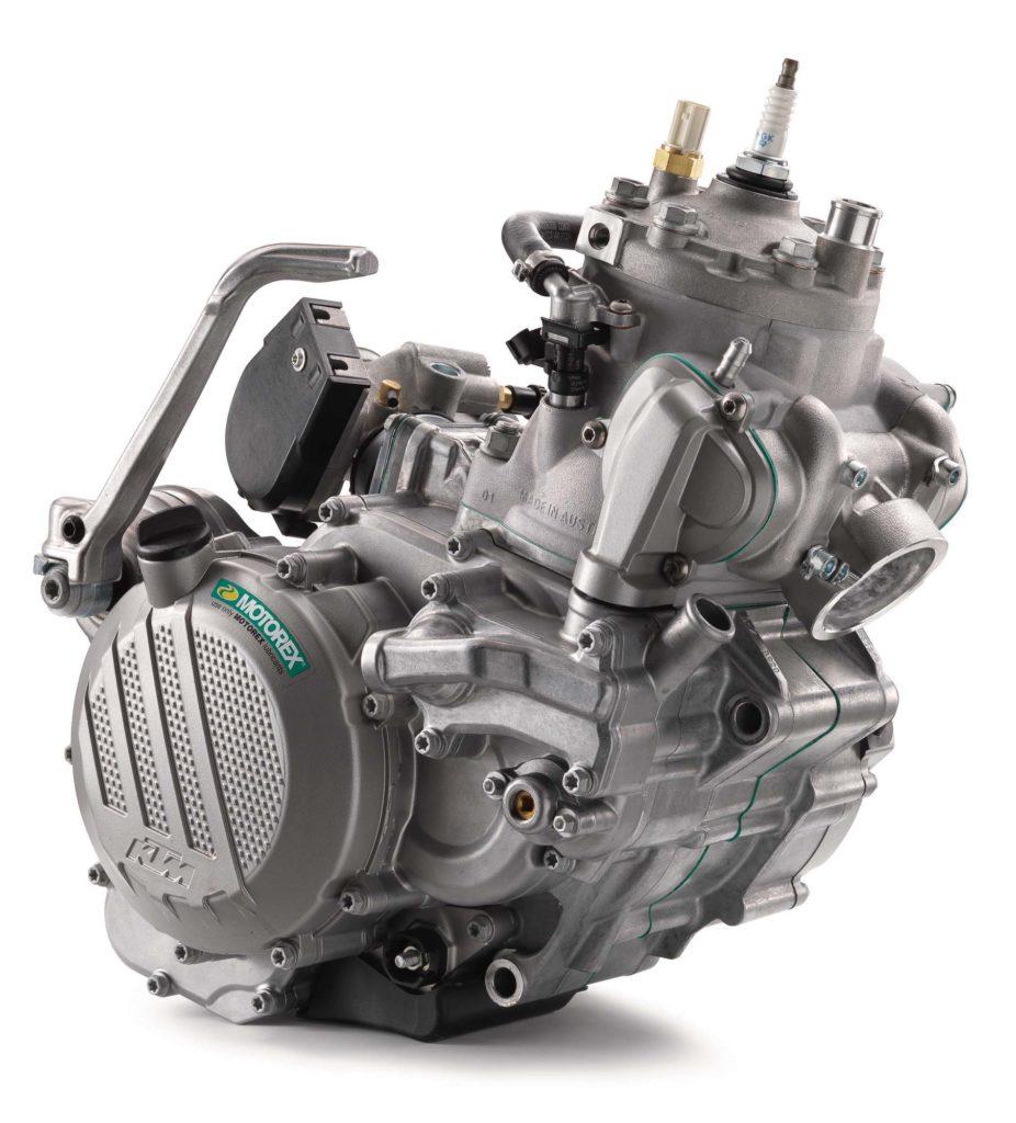 KTM Zweitaktmotor mit TPI Einspritzung