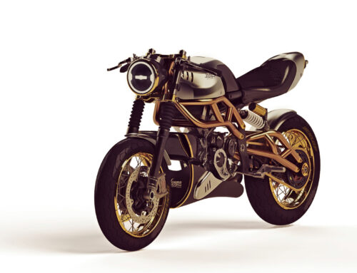 """The 2-Stroke"" – Cafe Racer mit Zweitaktmotor"