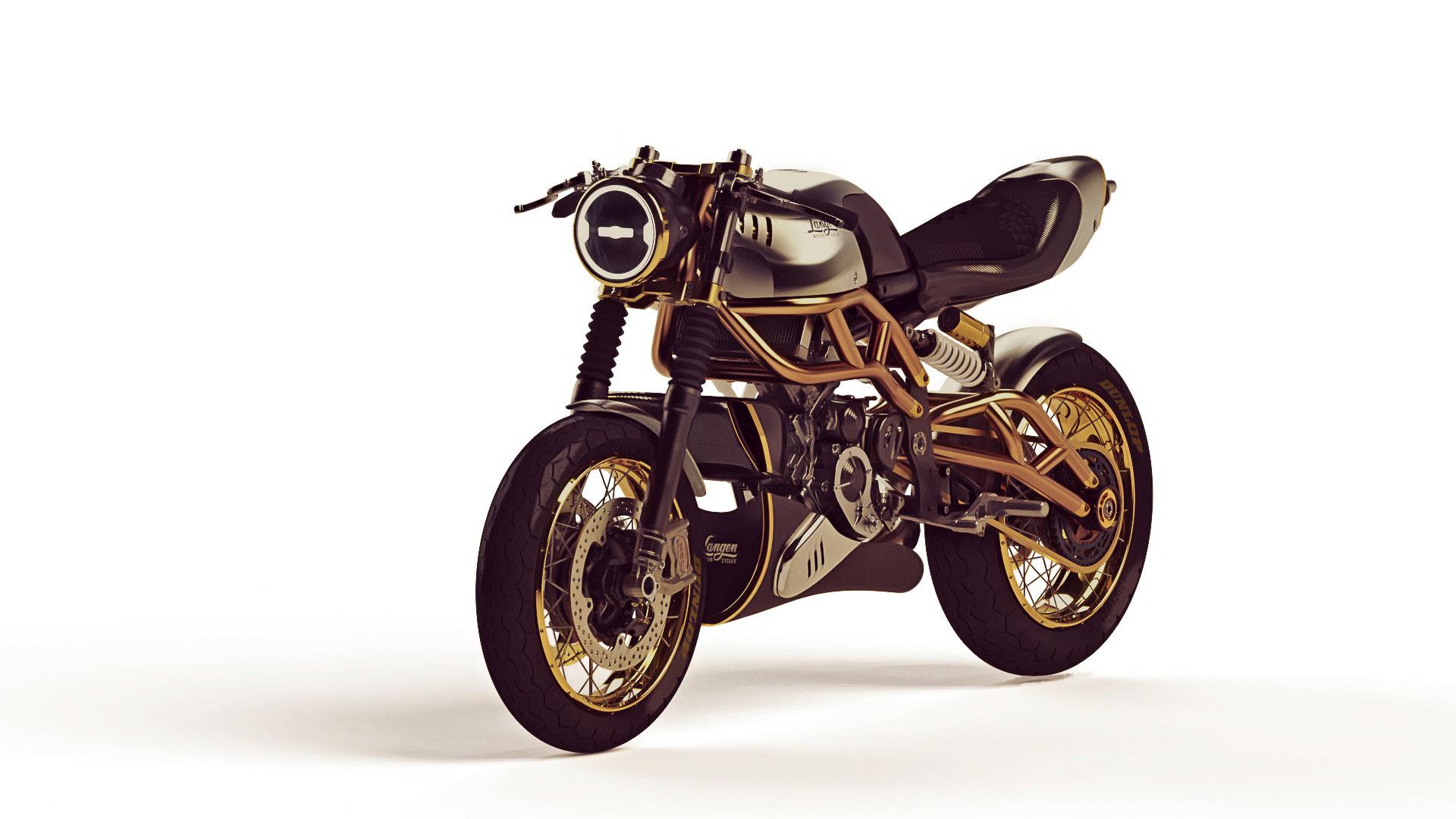 """""""The 2-Stroke"""" von Langen Motorcycles"""