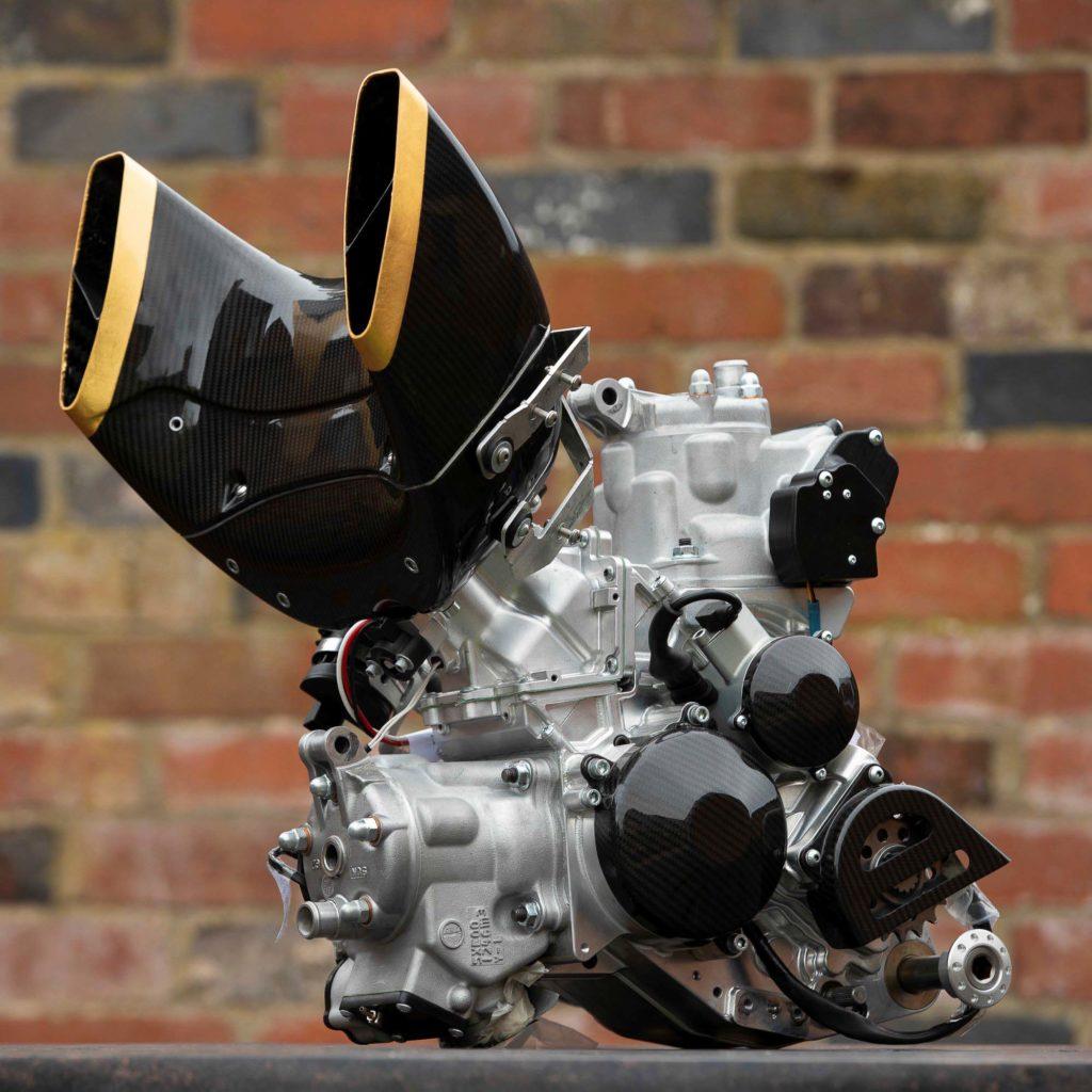 Der Zweitakt-Motor stammt von Vins