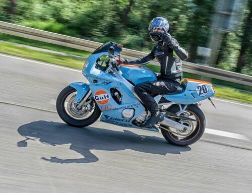 Yamaha FZR 600 R im Gulf-Racing Design