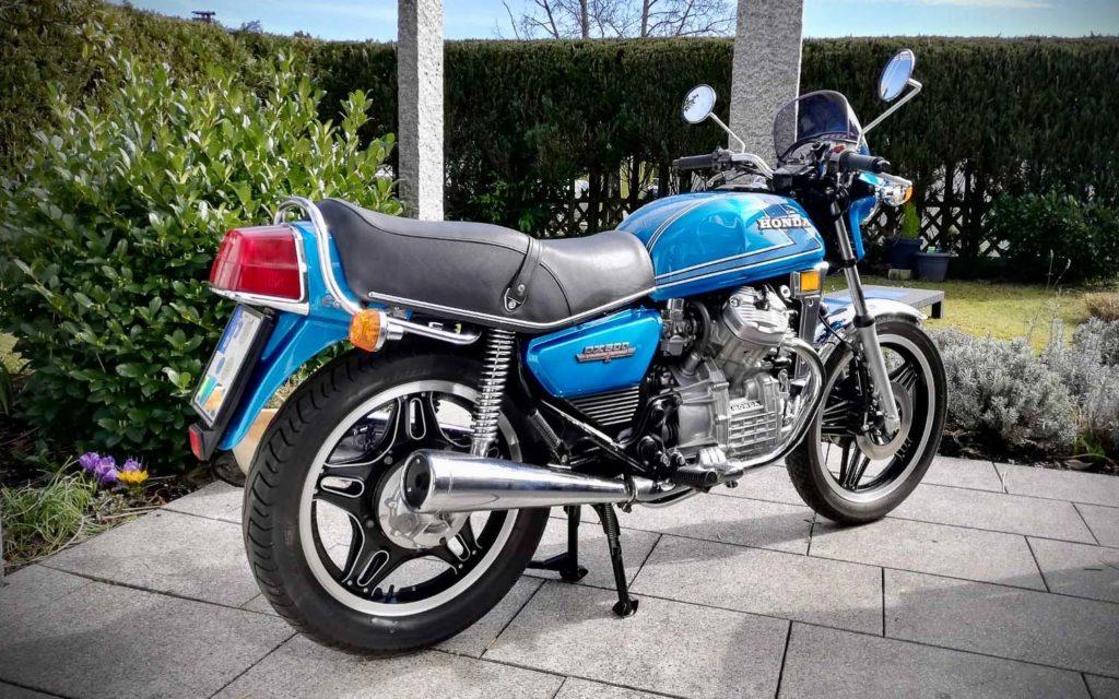Meine Honda CX 500 nach erfolgter Restaurierung