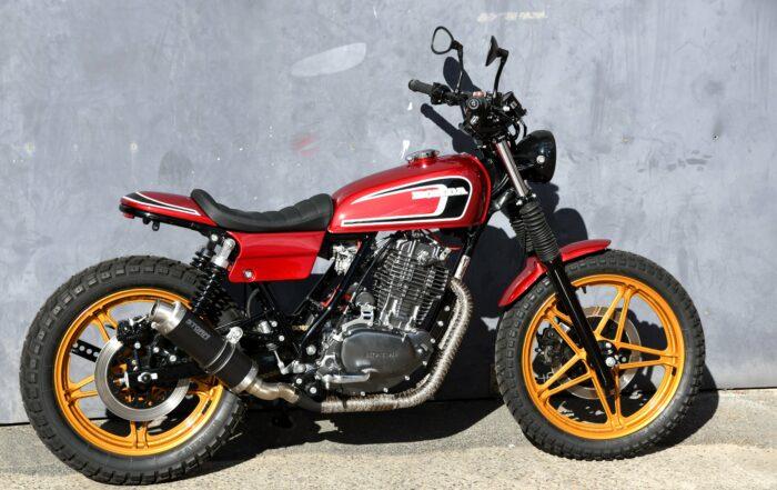 FT 500 Tracker - Custom Motorrad
