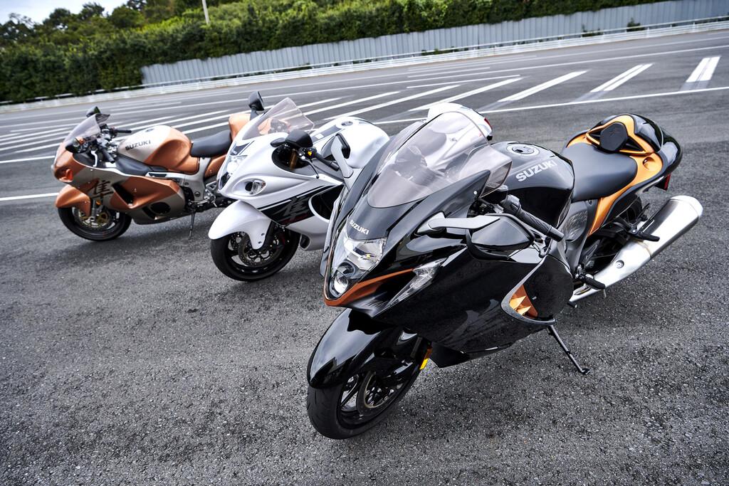 Suzuki GSX Hayabusa erfüllt die Euro-5-Norm