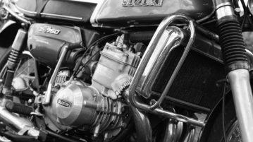 Die Suzuki GT 750 verkörpert die 1970er Jahre perfekt