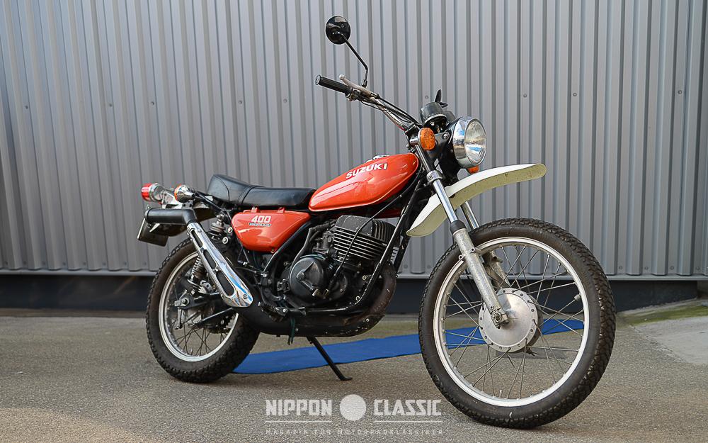 Häuptling der Zweitaktenduros: Suzuki TS 400