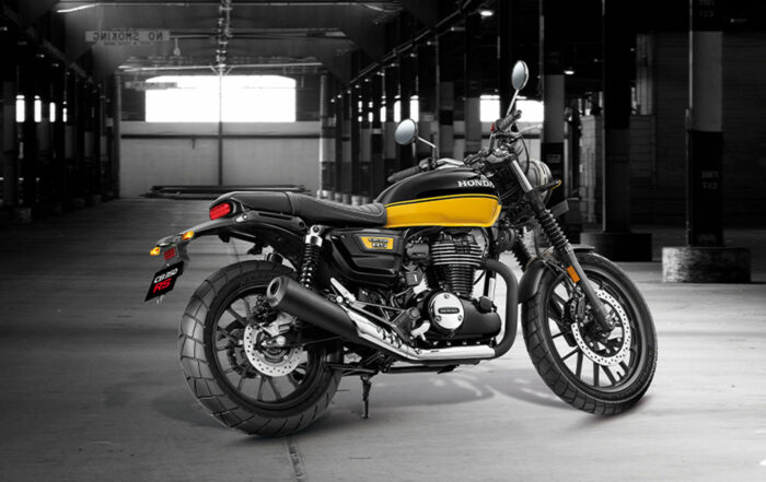 Die neue Honda CB 350 RS