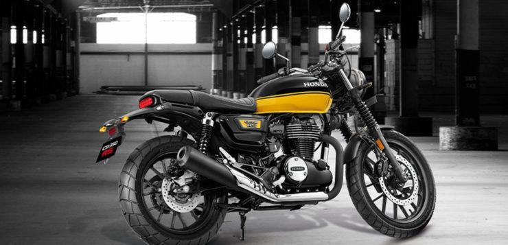 Die neue Honda CB350 RS im Retro-Look