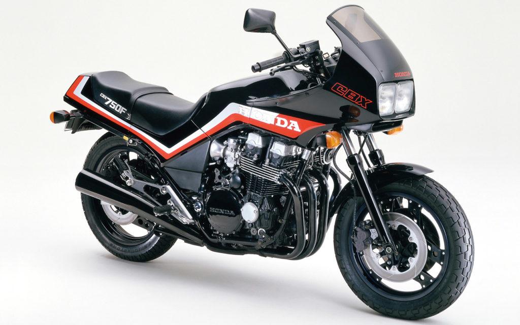 Honda CBX 750F Honda CBX 750F – gebaut von 1984 bis 1989