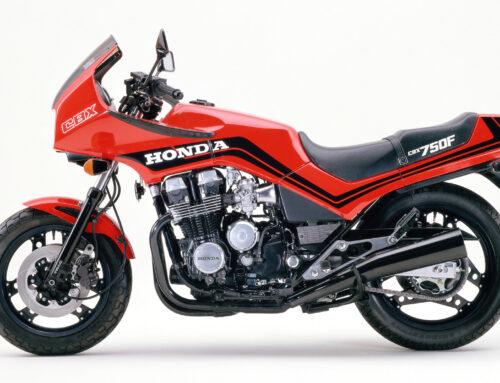 Honda CBX 750 F – potenter Rennsportler