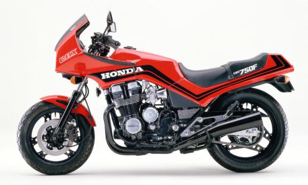 Honda CBX 750F in Monza Red