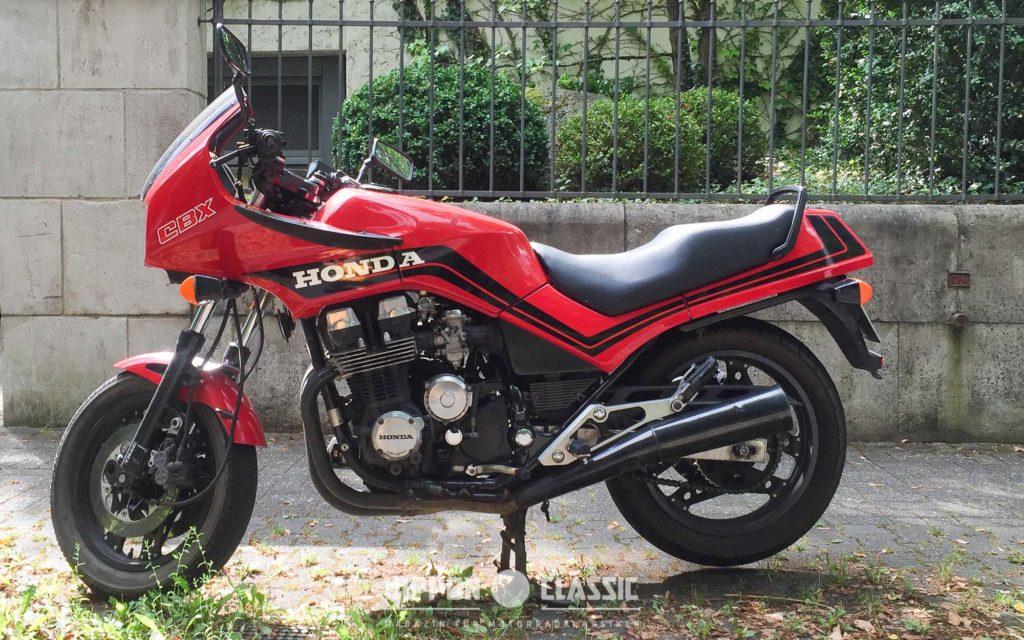 Die Honda CBX 750 F ist für Liebhaber die beste 750er