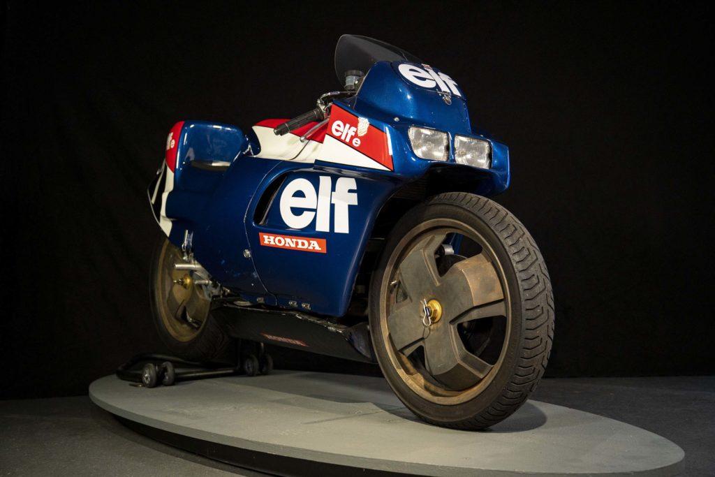 Experimentelles Rennmotorrad aus Frankreich