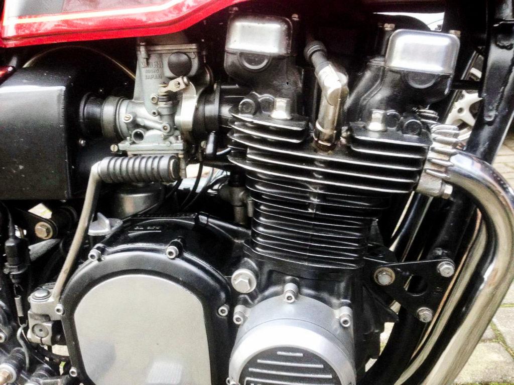 Der Motor der Z 1000 leistete 94 bis 97 PS