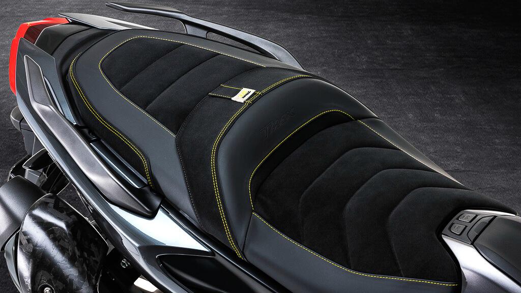 Edele und teuere Details zeichnen den Yamaha T-Max 500 20th Anniversary aus