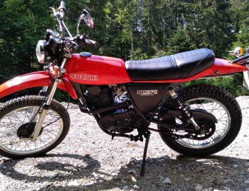 Suzuki SP 370 – Gegenentwurf zur Yamaha
