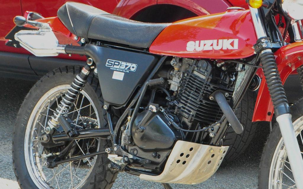 Das Fahrwerk der Suzuki SP 370 zeigte sich konkurrenzfähig