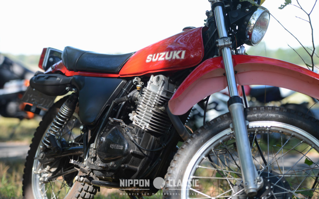 Die Auspuffanlage der Suzuki SP 370 ist rostanfällig