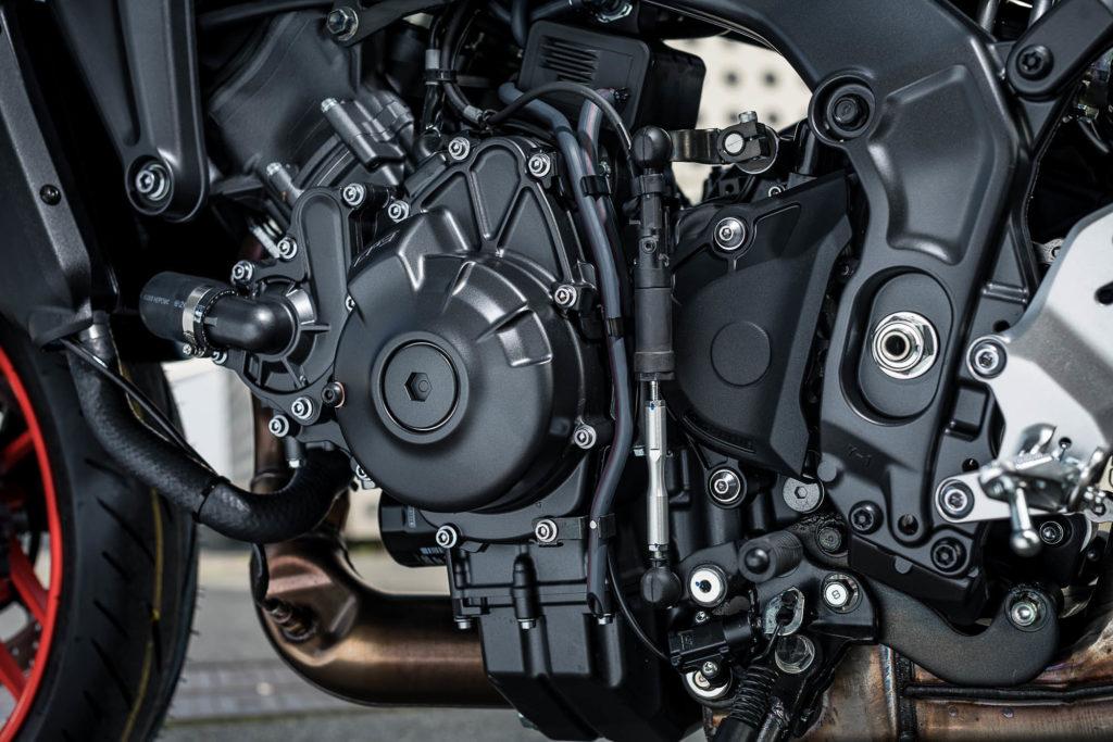 Neuer Motor mit mehr Leistung und Drehmoment für die Yamaha MT-09
