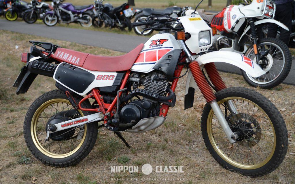 Die Yamaha XT 600 hat eine treue Fangemeinde