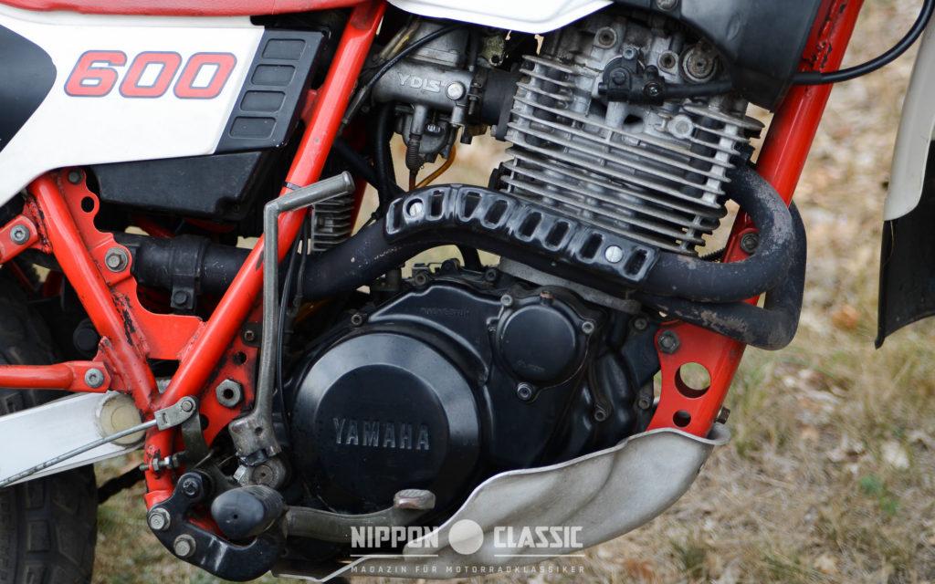 Die Yamaha XT 600 hatte einen Teikei-Registervergaser mit YDIS
