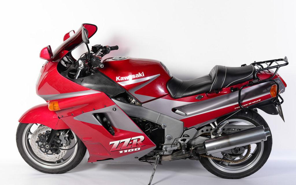 Zubehör gab es auch für die Kawasaki ZZR 1100