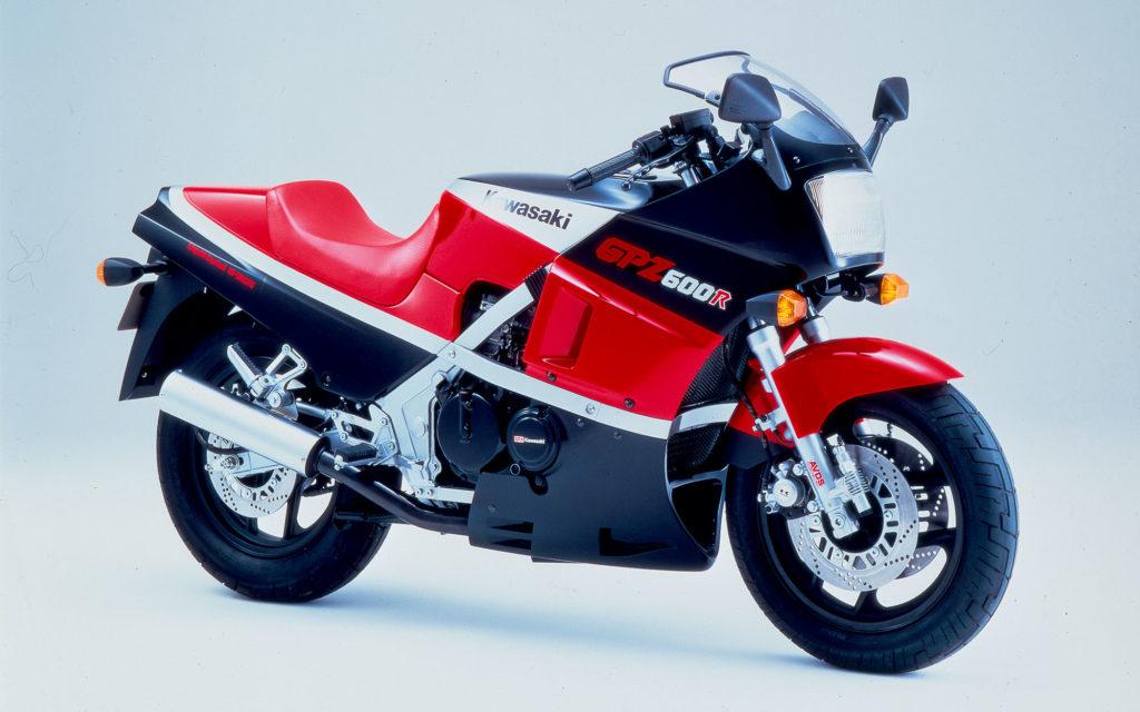 Die Kawasaki GPZ 600 R machte der 750er einiges vor