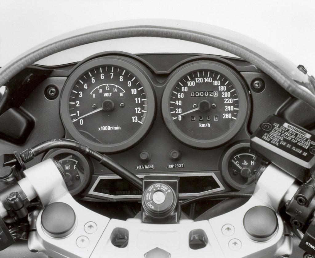 Viele Teile der GPZ 600 R verwendete Kawasaki auch in anderen Modellen