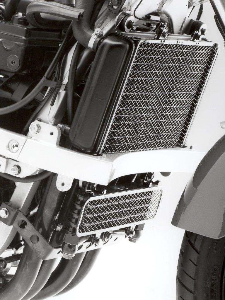 Die Kawasaki GPZ 600 R besaß zwei Kühler