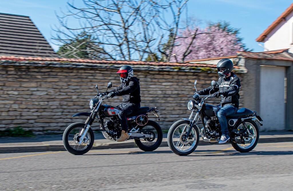 Mash Fifty und X-Ride 50