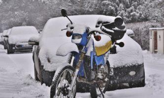 Schlechtes Wetter verdirbt den Motorradausflug