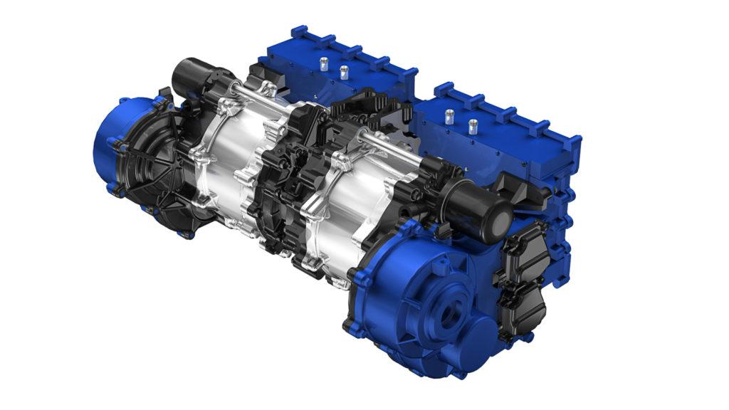 Elektro-Motoren für eine Antriebsachse