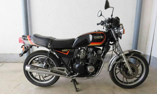 Die Yamaha XJ 550 wurde von 1981 bis 1984 gebaut