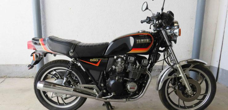 YAMAHA XJ 550 – Die Schöne ohne Biest
