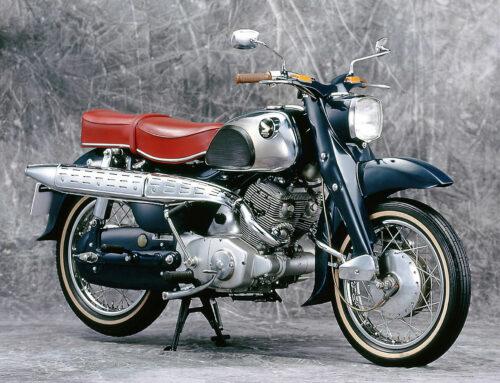 Honda C 71 – Mit E-Starter und Doppelsitzbank