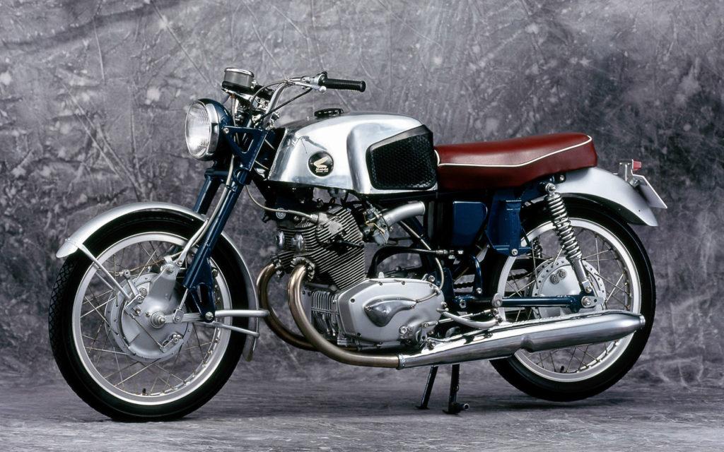 Neben der Honda C71 gab es auch die CR 71 Super Sport ohne Anlasser