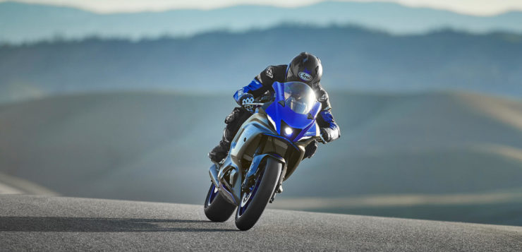 Die neue Yamaha R7 in Action