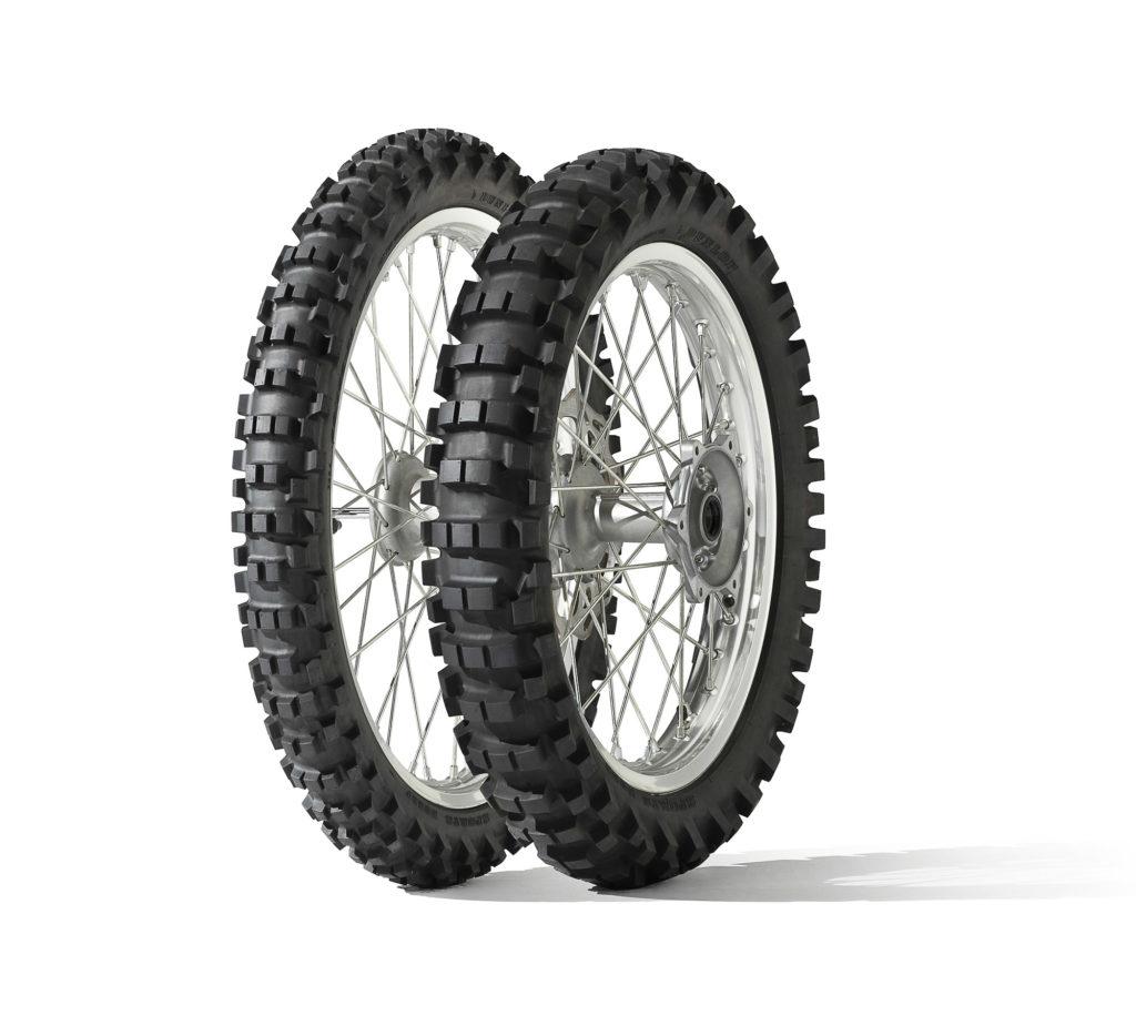 Motocross-Trainingsreifen Dunlop D952.